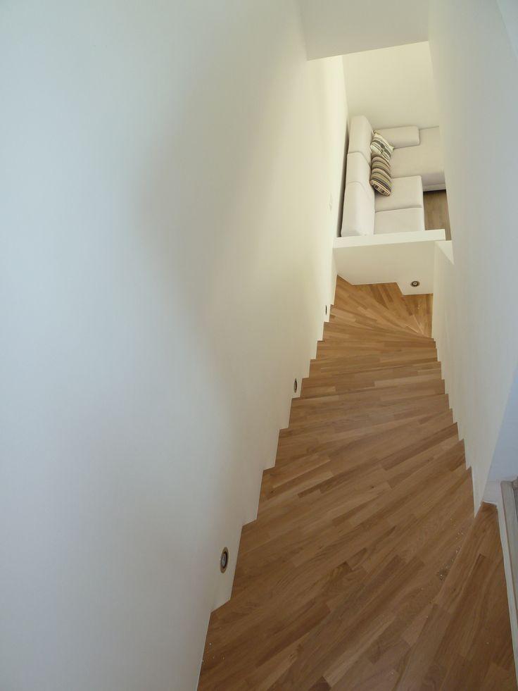 drevené schodisko/stairs