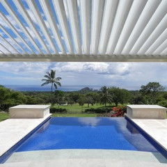 Tropical Pool By EcoShade™ | Patio Roofs   General Roofing Systems Canada  (GRS)
