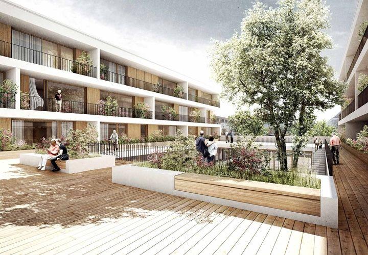 TRU ARCHITEKTEN, HOLZWARTH Landschaftsarchitektur, yellow z urbanism architecture