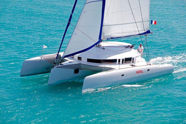 Best Trimarans for Cruising: Neel 45