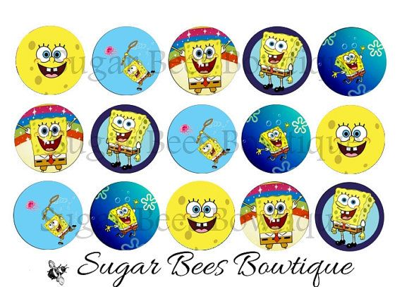 SpongeBob Bottle Cap Images