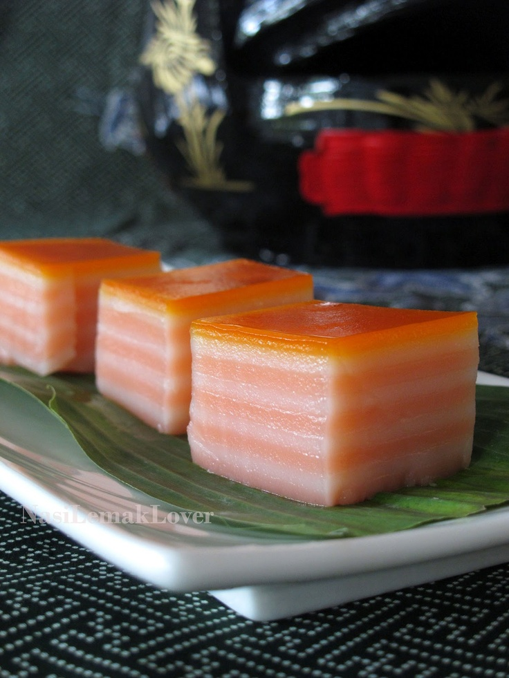Kueh Lapis / Steamed 9 Layers cake 九层糕