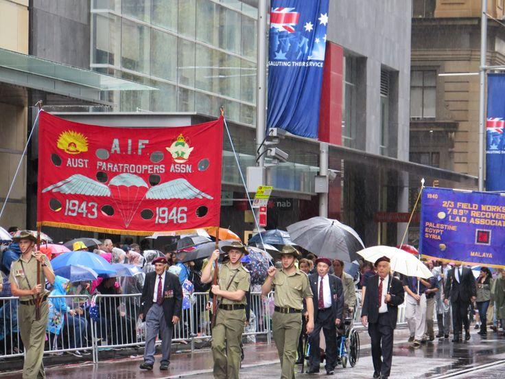ANZAC Day March – 2014 – Sydney CBD