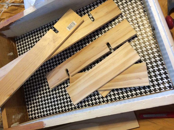 Make your own drawer divider
