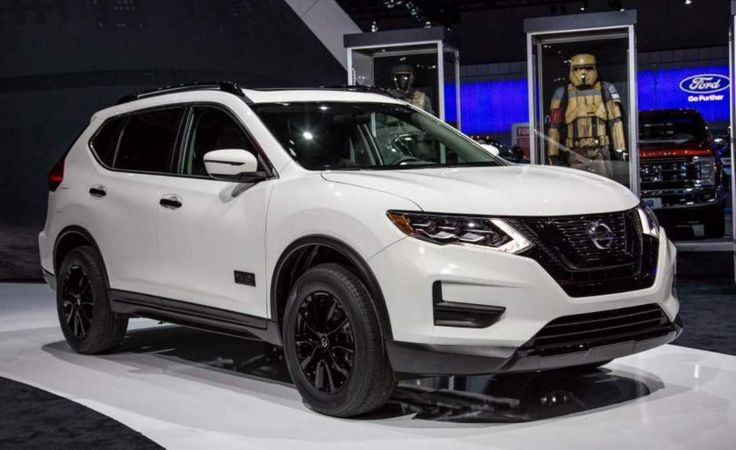 2017 nissan rogue white