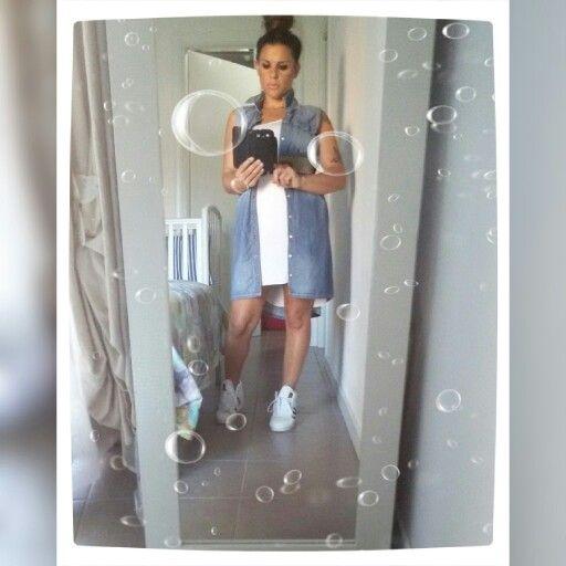 #jeans#dress # White #capellilegati #