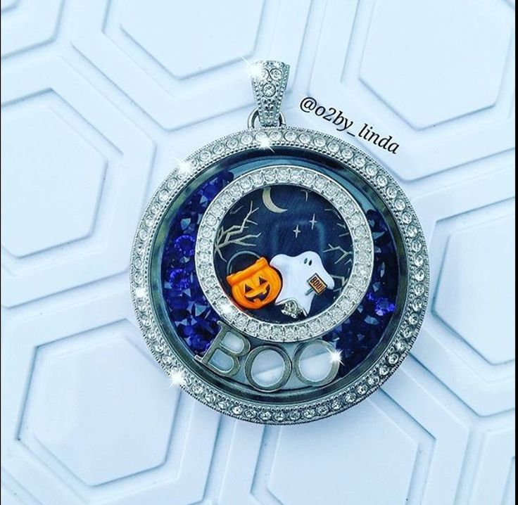 Origami Owl... Fall / Halloween...  Locket