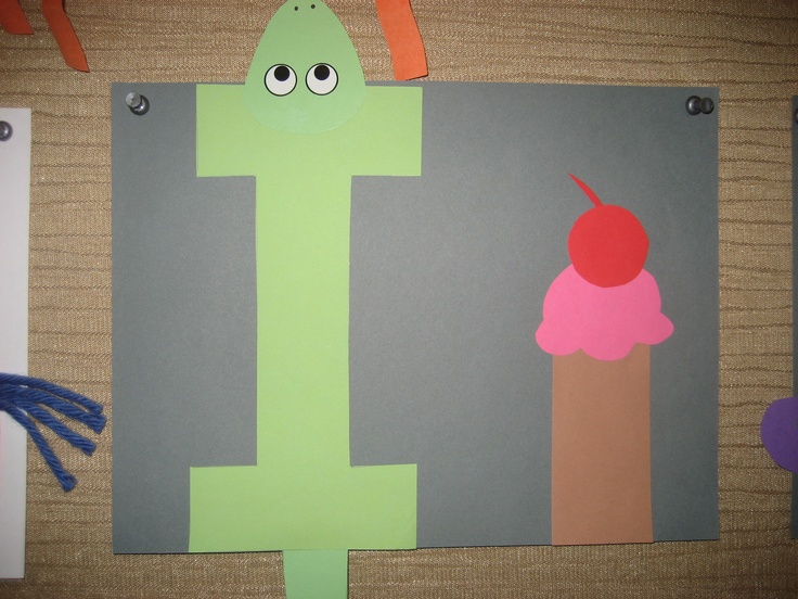 examples of letters letter i projects for preschoolers 21614