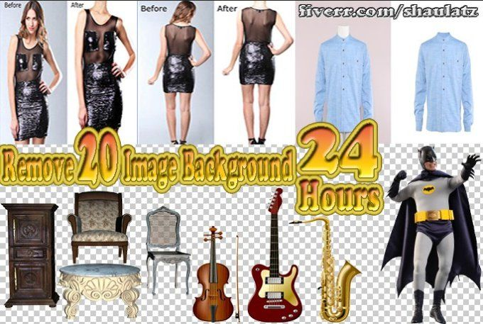 remove background 20 images within 24 hours for $5    *****I will provide this gig in following service***** Removal Background Background Change White Background Image Masking Image Clipping Path Image Cut-out Green Screen Remova Transparent Background Image/photo re-sizing,Cropping Color correction Color changing Image/photo editing
