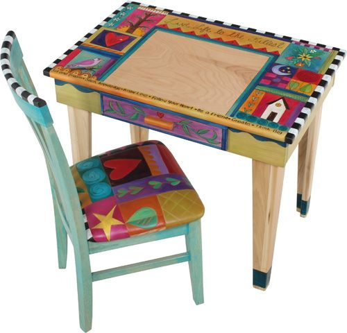 Child s hand painted rocking chair - 392 Best Images About Colorful Painted Furniture On Pinterest