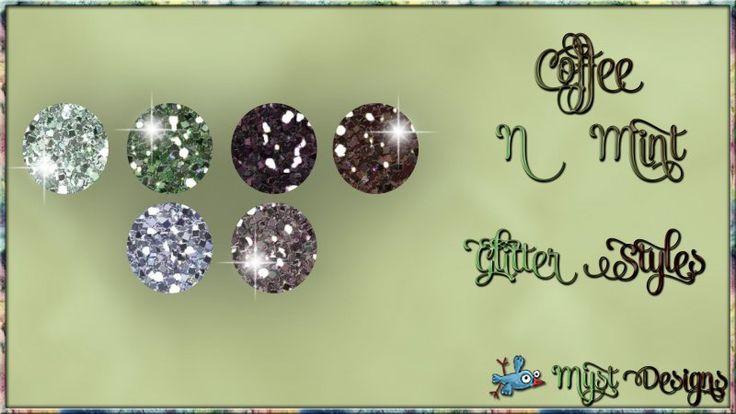 Coffee N Mint Glitter