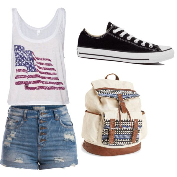 Untitled #77 by feffymoya-1 on Polyvore featuring polyvore fashion style Pieces Converse Aéropostale