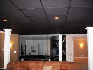 Black Drop Ceiling Tiles 24