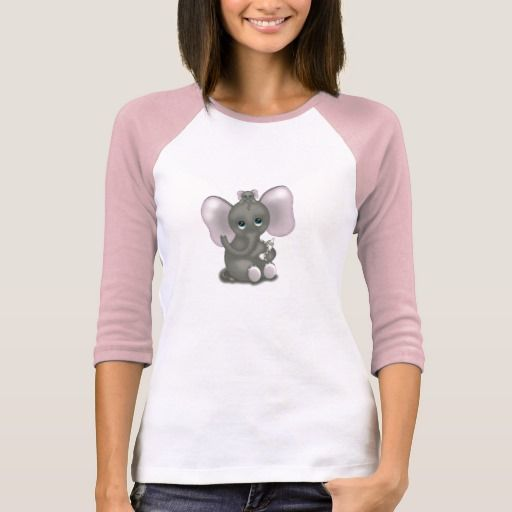 Cute Elephant with Baby T-Shirt