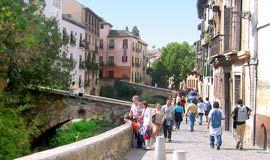 Paseo de los Tristes #Granada