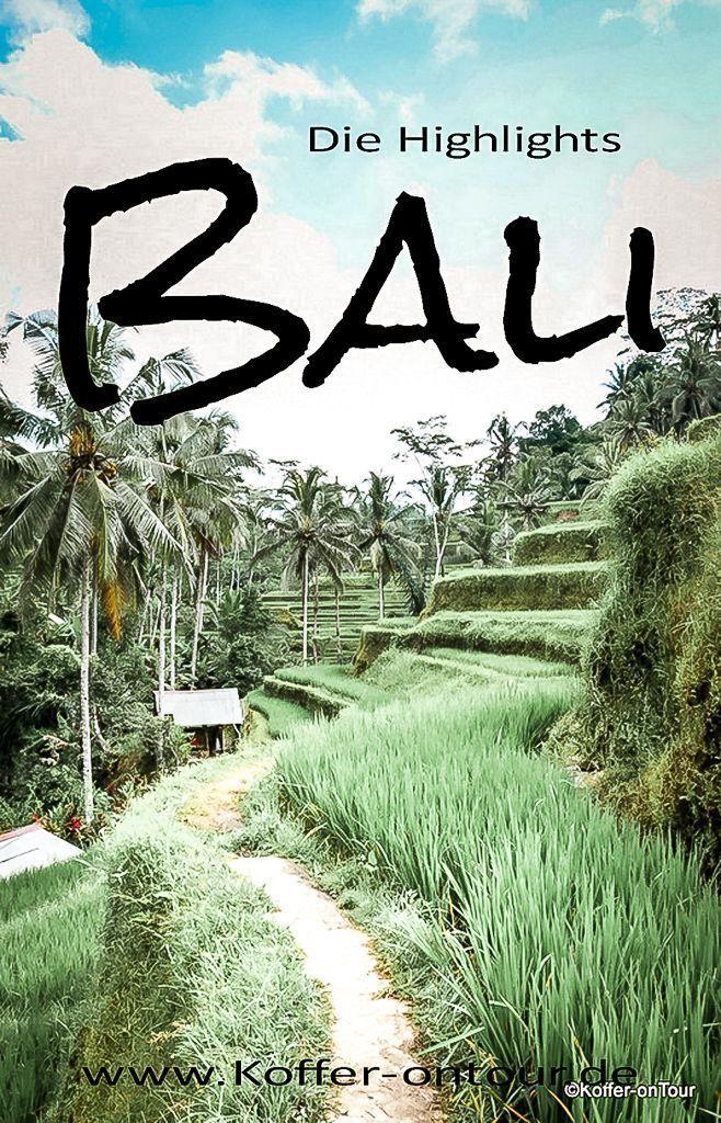 Bali ist eine Trauminsel. Es gibt 15 Dinge, die Sie dort sehen müssen. Wir … …   – Reise
