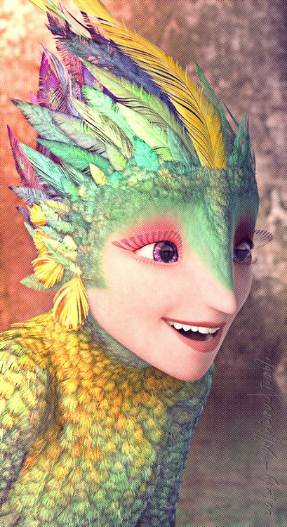 *TOOTH FAIRY aka: TOOTHIANA ~ Rise of the Guardians, 2012