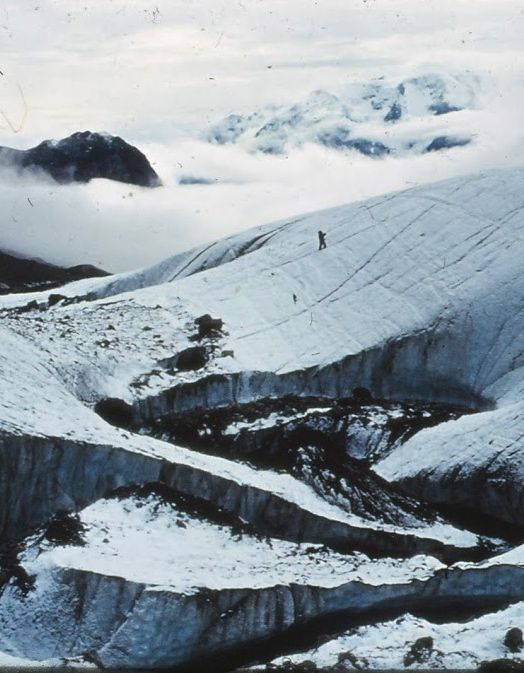 meltwater stream, Oxford Gletscher