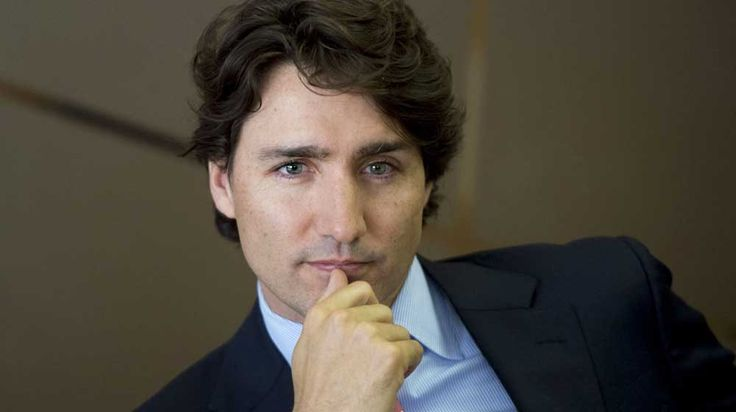 Young Justin Trudeau's Hot!