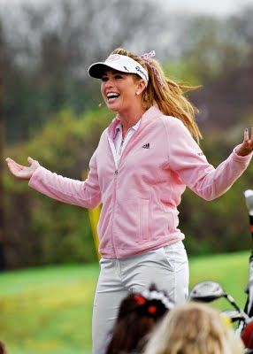 Paula Creamer (The Pink Panther) of the LPGA
