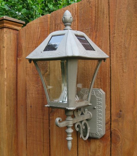 Solar Lights To Hang On Fence: 17 Best Images About Solar/porch Lights On Pinterest