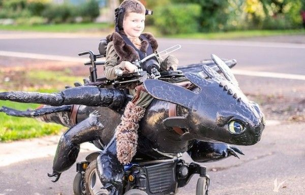 Magic Wheelchair Makes Epic Costumes For Kids