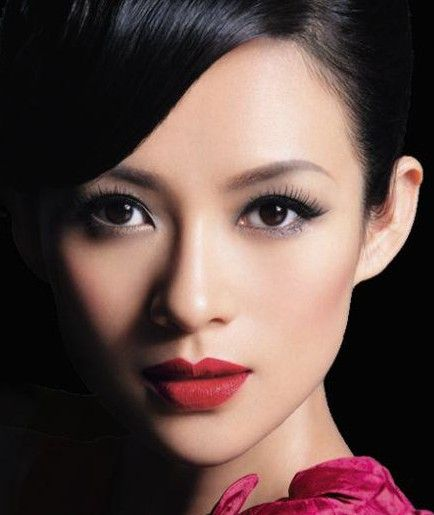 Asian celebrities' makeup styles