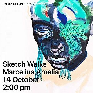 Draw inspiration from the everyday to make expressive, abstract art using iPad Pro, Apple Pencil and the Procreate app at Apple Regent Street, London.