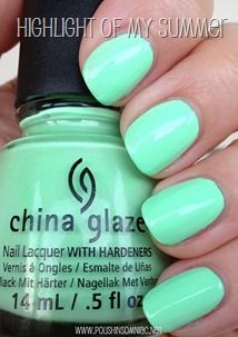 China Glaze Sunsational - The Cremes ♥ Swatches and Review