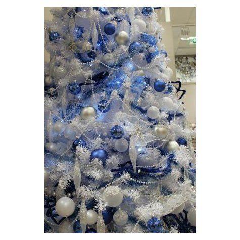 Lot de 6 boules Renne & fée BLEU COBALT - Boules en verre : Izaneo.com