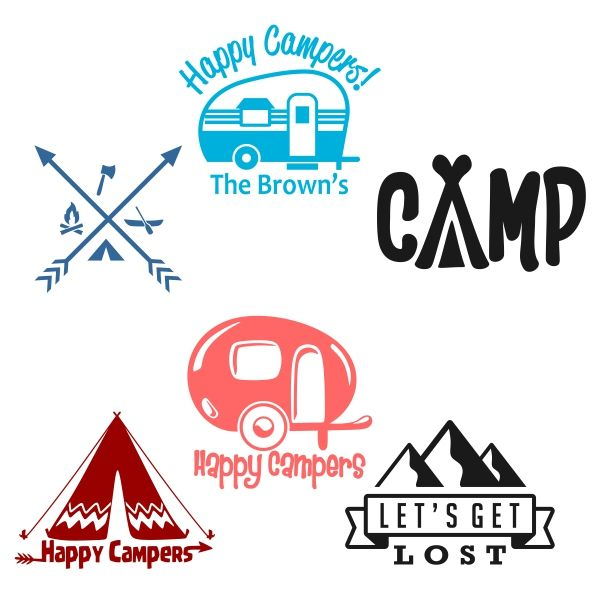 Camping Svg Cuttable Design