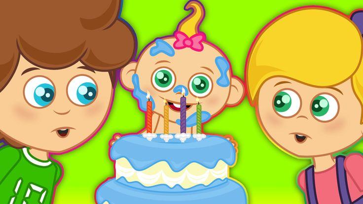 Doğum Günü Şarkısı | Mutlu Yıllar | Sevimli Dostlar | Çocuk Şarkıları 20...