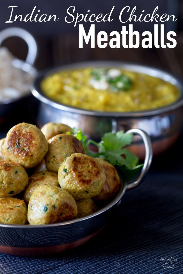 These Indian Spiced Chicken Meatballs are sure to be a hit with the whole family!!! Tender, succulent and packed with wonderful spices. This is the…