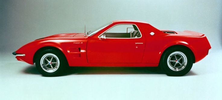 Kat's on vacation and I'm running the show today, so that means your Saturday will be full of bizarre and wonderful concept cars. Let's get warmed up with that time Ford thought about doing a mid-engined Mustang.