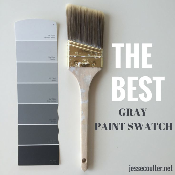 The Best Gray Paint Swatch Nebulous white and grey matters