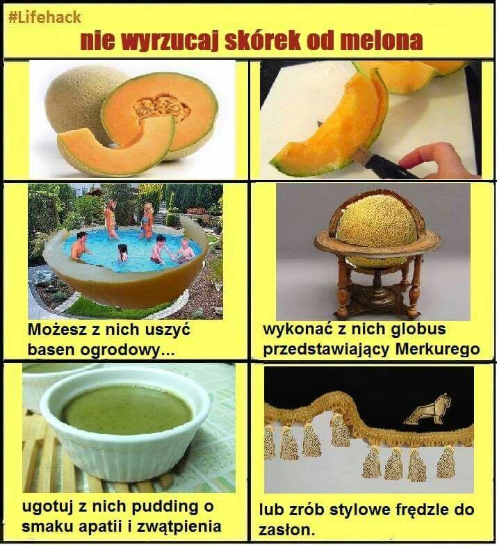 Skórki od melona