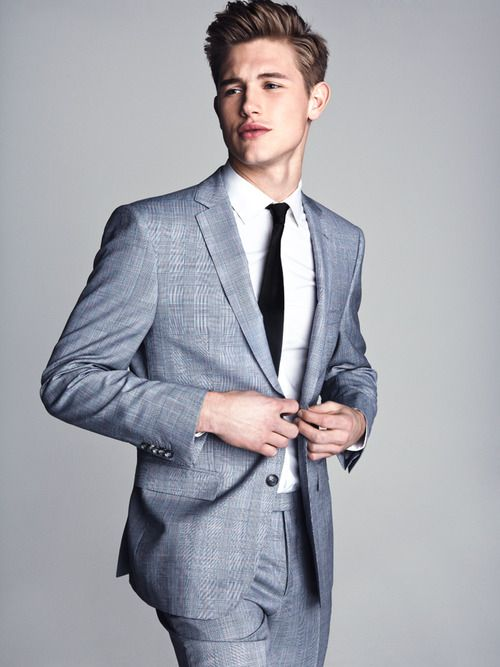 Paddy Mitchell in Hugo Boss by Christian Oita for GQ Style UK, Summer 2013