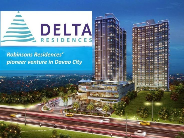 Delta Residences Davao, a project by Robinsons Residences