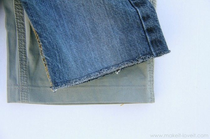 Turning Long Pants into Shorts - great tips for easy hems