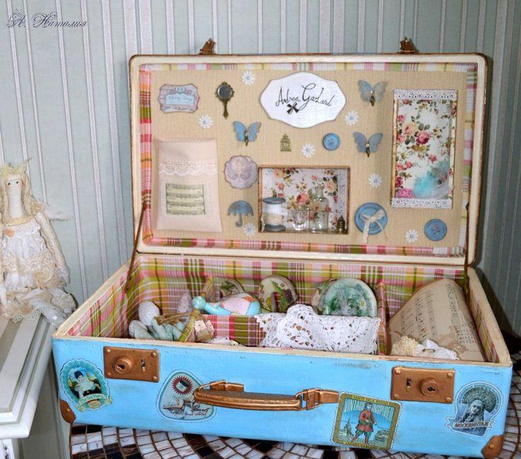 демо-стенд чемодан для продукции Андреа Гарленд