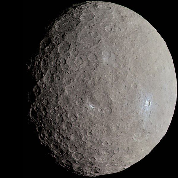 Dwarf planet Ceres soon to be closest since 2009  | EarthSky 1/25/18