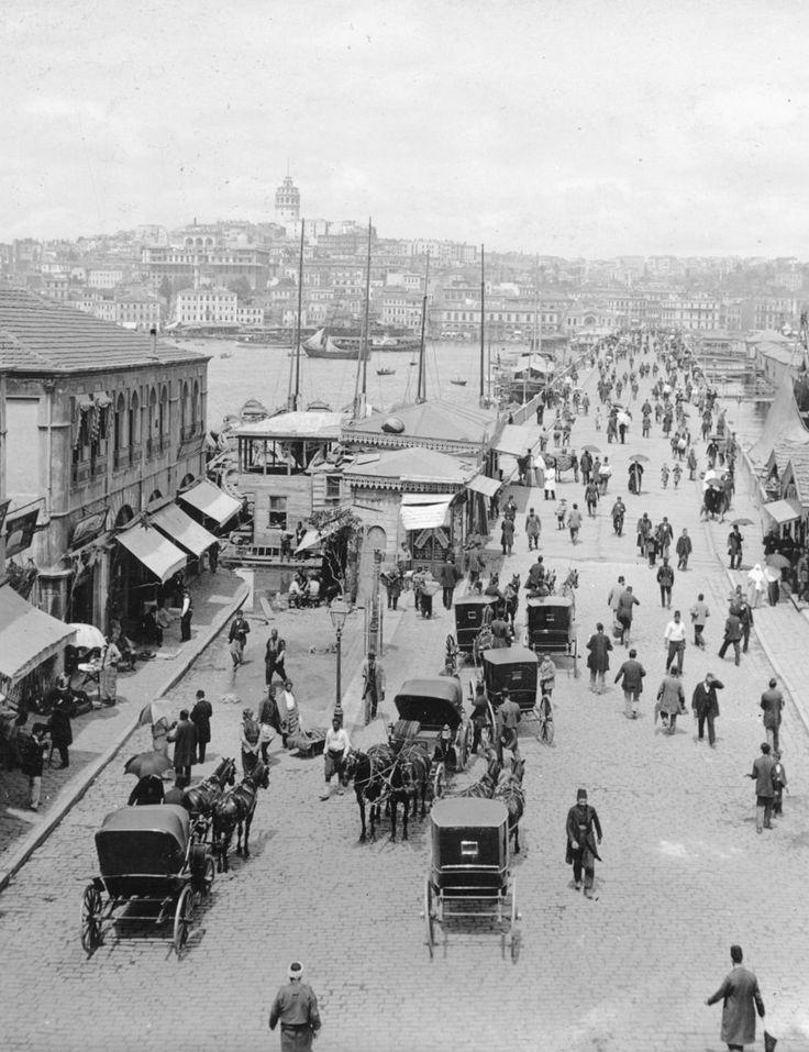 Galata Köprüsü 1900'ler