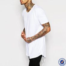 100% cotton crew neck mens custom t shirt wholesale china scoop hem and taping longline       best buy follow this link http://shopingayo.space    best seller follow this link http://shopingayo.space