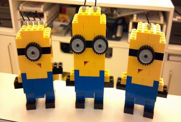 LEGO Minions with step by step instructions