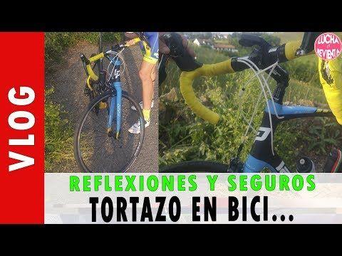 TORTAZO EN BICI. REFLEXIONES Y SEGUROS - Videos de Ciclismo