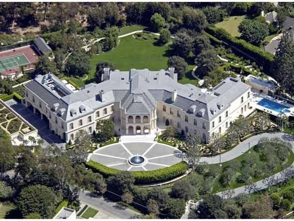 The Spelling Mansion—57,000 square feet—Los Angeles, Calif.