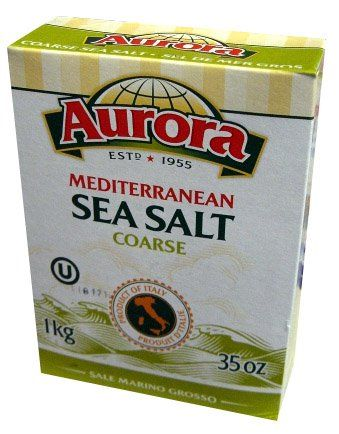 Sea Salt, Mediterranean, COARSE (Aurora) 1kg (35 oz) * Check this awesome product by going to the link at the image.