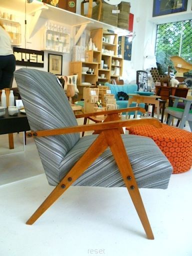 refre recykled armchair