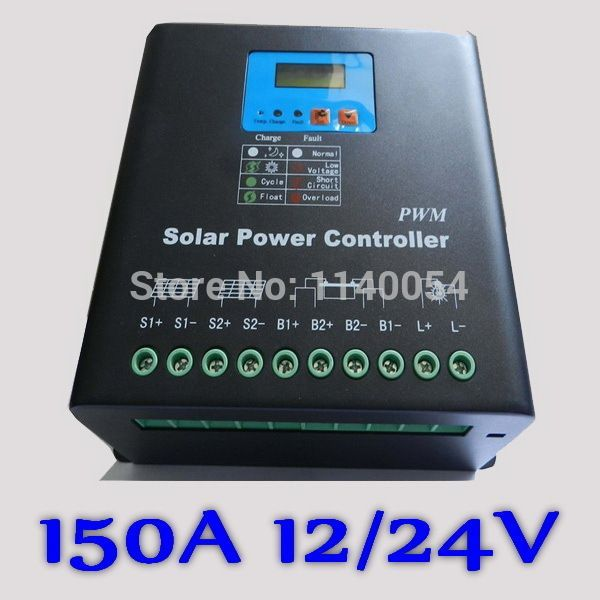 Nice Solar Electrics Systems  2017: 150A Solar Controller PV panel Battery Charge Controller Regulator 12V 24V Solar...  Electrical Equipment & Supplies Check more at http://solarelectricsystem.top/blog/reviews/solar-electrics-systems-2017-150a-solar-controller-pv-panel-battery-charge-controller-regulator-12v-24v-solar-electrical-equipment-supplies/