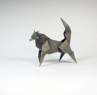 折り紙オオカミ